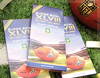 Super Bowl XLVIII Ticket & Coupon Packaging