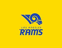 LA Rams Rebrand