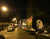 Big Afro on truck - Boulogne Billancourt