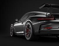 911 GT3 RS black