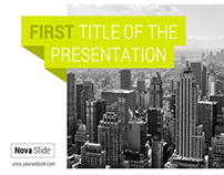 Powerpoint NovaSlide - Build Your Perfect Presentation