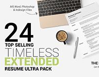 24 Timeless Resume Ultra Extended Pack