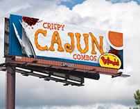 Bojangles' 2015 Billboard Campaign