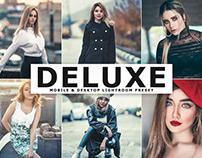 Free Deluxe Mobile & Desktop Lightroom Preset