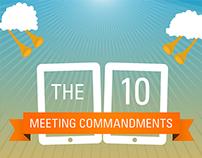 The 10 Meeting Commandments