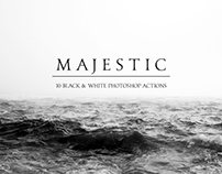 Majestic: Black & White PS Actions