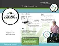 Tri-Fold Brochure for Local Currency