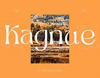 FREE | Kagnue Serif - Modern Classy Font