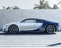 Breaking the records: Bugatti Chiron