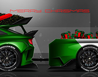 Ford Escort RS Cosworth homage Concept - Xmas Version