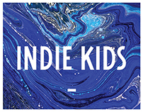 Identity for man`s clothes store «Indie Kids»
