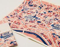 Viva Vila - Map poster