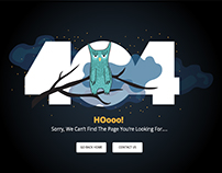 Set of 404 Error page templates