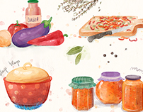 Watercolor recipe
