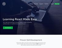 Master React - Landing Page