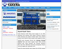 Website Development for KOPERASI KREDIT TAKERA