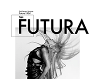 Futura (Homage to a Typeface)