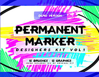 FREE – Permanent Marker Designers Kit Vol. 1: THE DEMO