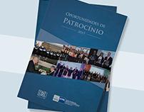 Projeto gráfico - Catálogo de Patrocínio 2017