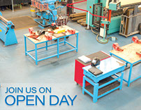 Promotional Flyer. OPEN DAY Stockport College