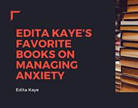 Edita Kaye's Favorite Books On Managing Anxiety