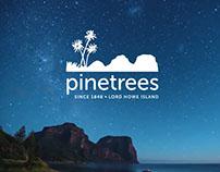 Pinetrees Lord Howe Island branding