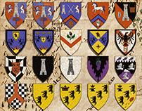 The Roll of Arms of Ĭndrēl