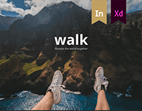 Walk app. Explore the world together.