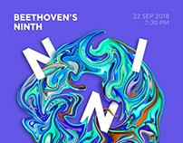 Beethoven's Ninth Symphony Poster Series