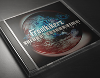 Cover to Trance music mixes for Frontkikerz DJ