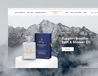 Aromatherapy Associates Website Design