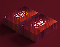 Business Card Mockup Psd – Front & Back View