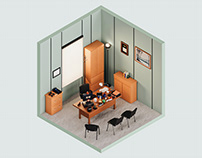 Michael Scott's Office — The Rooms Project