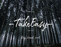 Free Font - Take Easy