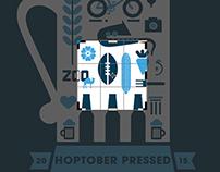 Hoptober Pressed Poster