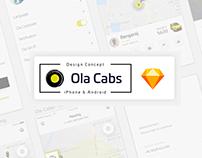 Ola Cab Redesign Concept