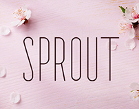 Sprout - Sans Serif - Thin Condensed Font