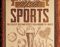 Sports Bar Flyer Template 3