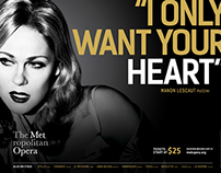 THE METROPOLITAN OPERA / 2015–2016 Advertising