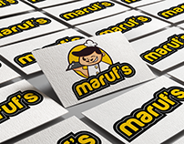 Maruf's Logo & Branding