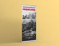 Sultanbeyli Belediyesi Gezici Savaş Müzesi Rollup
