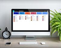 INNOVA SOFT management software interface design
