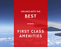 Airlines with the Best First Class Amenities