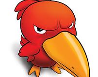 Annoyed bird Squawko