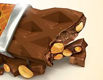 ILUSTRATATION CHOCOLATE BAR