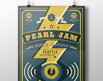 Pearl Jam: Gig Poster
