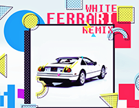 MVZR - White Ferrari I Single Cover