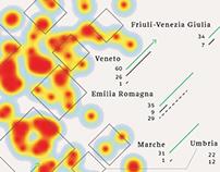 Le stazioni dismesse in Italia / La Lettura #222