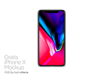 iPhone X Mockup Gratis PSD
