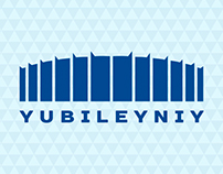 "Corporate identity for ""Yubileyniy"" sports complex"